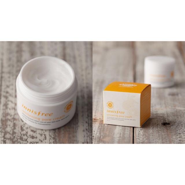 Kem Dưỡng Trắng Da Whitening Pore Cream Innisfree 50ml