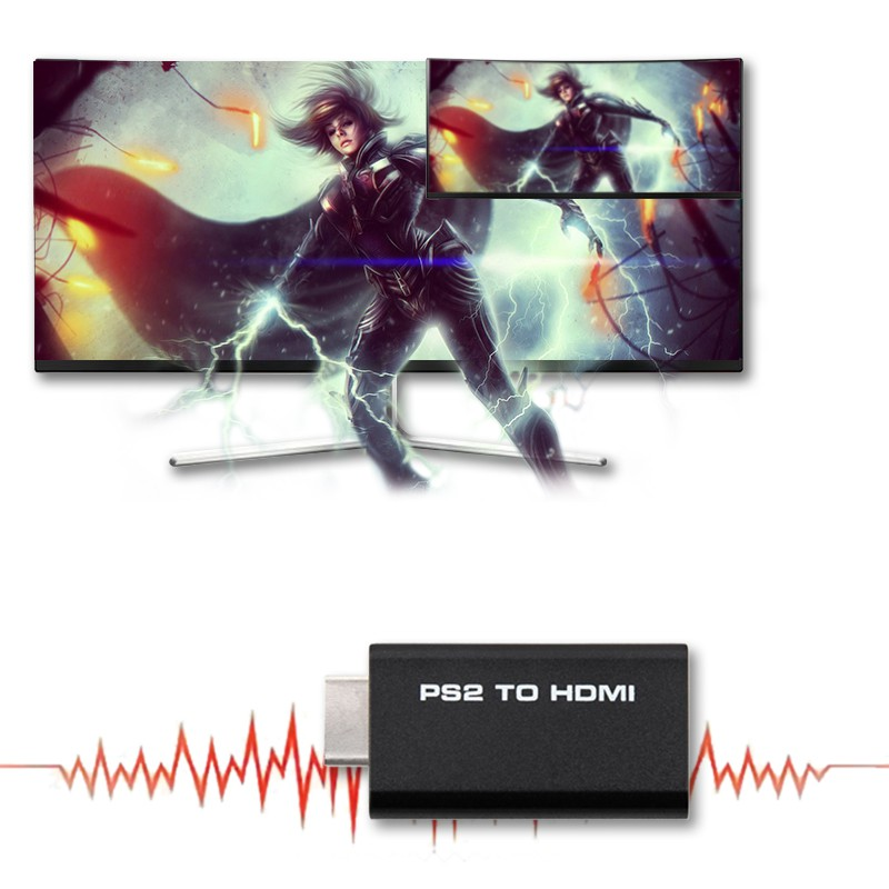 VN COOLMALL HDV-G300 PS2 to HDMI 480i/480p/576i Audio Video Coisplay Modes Giá chỉ 59.000₫
