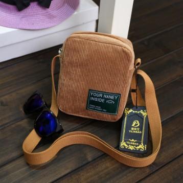 Túi Mini, Túi Nhỏ, Túi Đeo Chéo G8484 Màu Nâu
