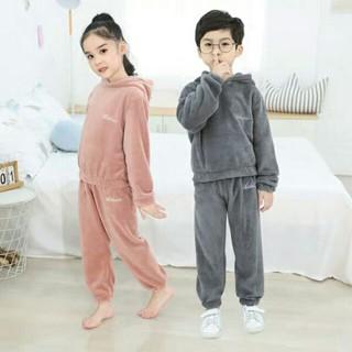 Bộ quần áo Lông Cừu D.Studio siêu yêu cho Bé và Mẹ [Clip thật]