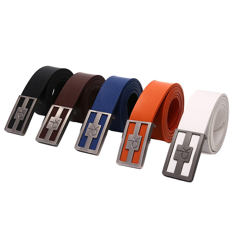 Happybay iMen's Belts Waist Strap Waistband Business Leisure Leather Automatic Buckle