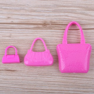 10pcs Plastic Miniature Toy Bag for Doll Girls Play House Toy Accessories easygoingbuy.vn♪♫♬♩♪☆