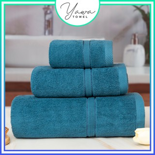Khăn tắm gội mặt cao cấp Yawa với sợi bông cotton siêu dày thấm hút tốt, không đổ lông, không ra màu