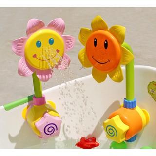 Lovely Sunflower Water Spray Fancy Children Sprinkler Toys
