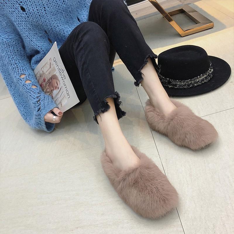 giày lười nữ vải lông thời trang thu đông xinh xắn - 13868502 , 2735535279 , 322_2735535279 , 430100 , giay-luoi-nu-vai-long-thoi-trang-thu-dong-xinh-xan-322_2735535279 , shopee.vn , giày lười nữ vải lông thời trang thu đông xinh xắn