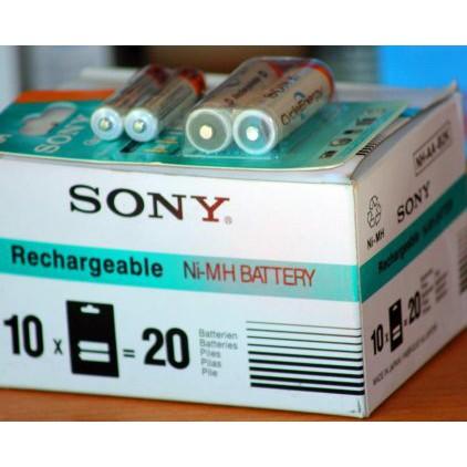 [SALE 10%] Pin sạc AAA, 3A Sony 4.300mAh 1 vỉ 2 viên