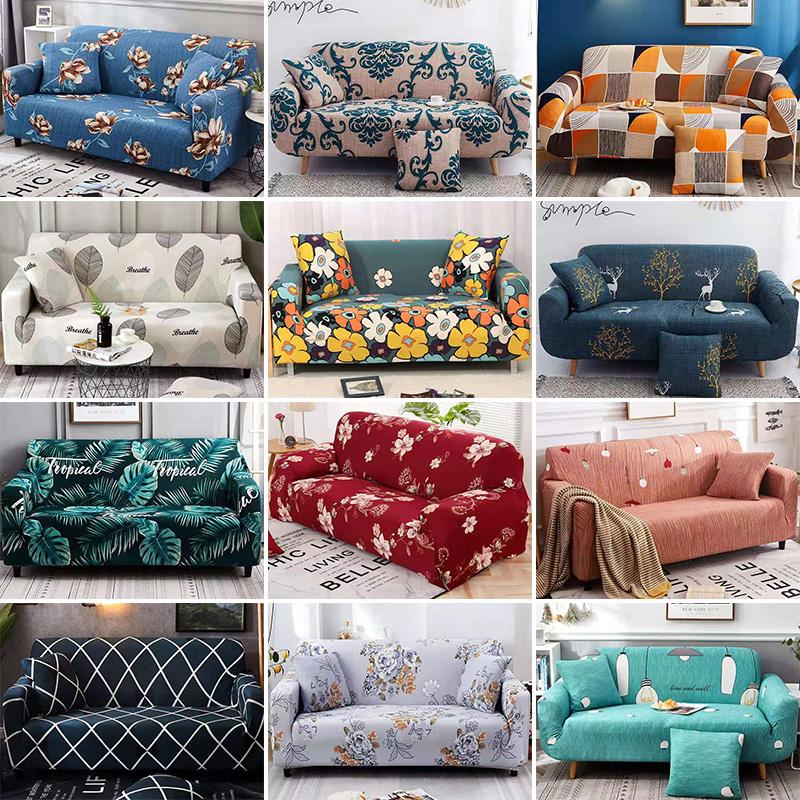2. Vỏ Bọc Ghế Sofa 90-300cm 1 / 2 / 3 / 4 Chỗ Ngồi Nhiều Họa Tiết