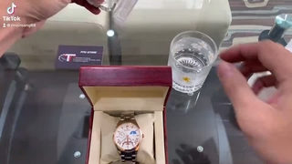 Đồng hồ nam FNGEEN Kim dạ quang Dây Thép Kim Loại Không Gỉ Cao Cấp Chống nước Chống Xước