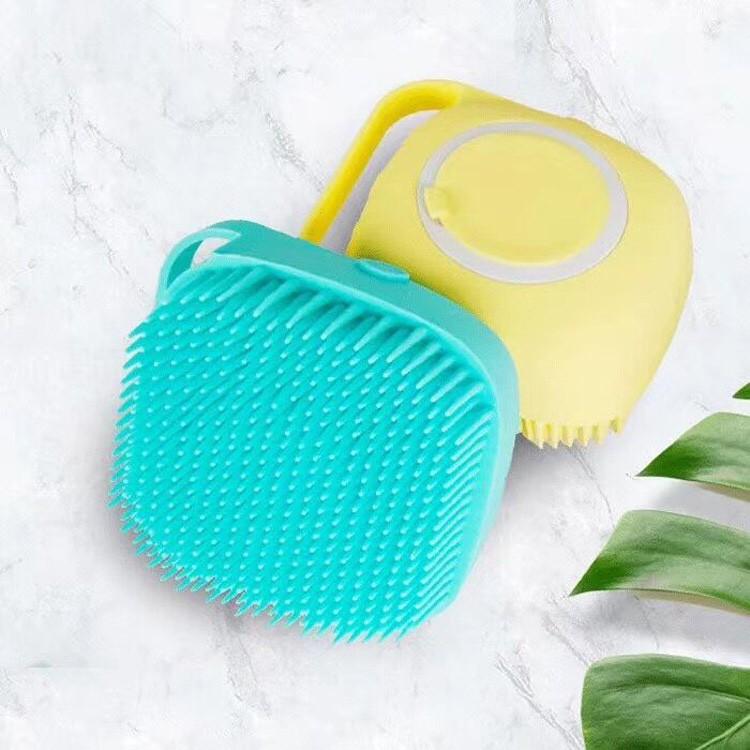 Bông tắm silicon tạo bọt massage