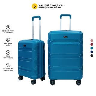 Vali kéo du lịch cao cấp TRAVELKING-855 kích thước 20, 24 inch chính hãng Hùng Phát - Bảo hành 5 năm thumbnail