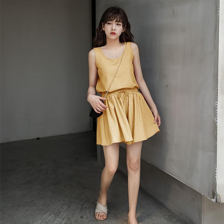 (orb) váy maxi dài lưng cao