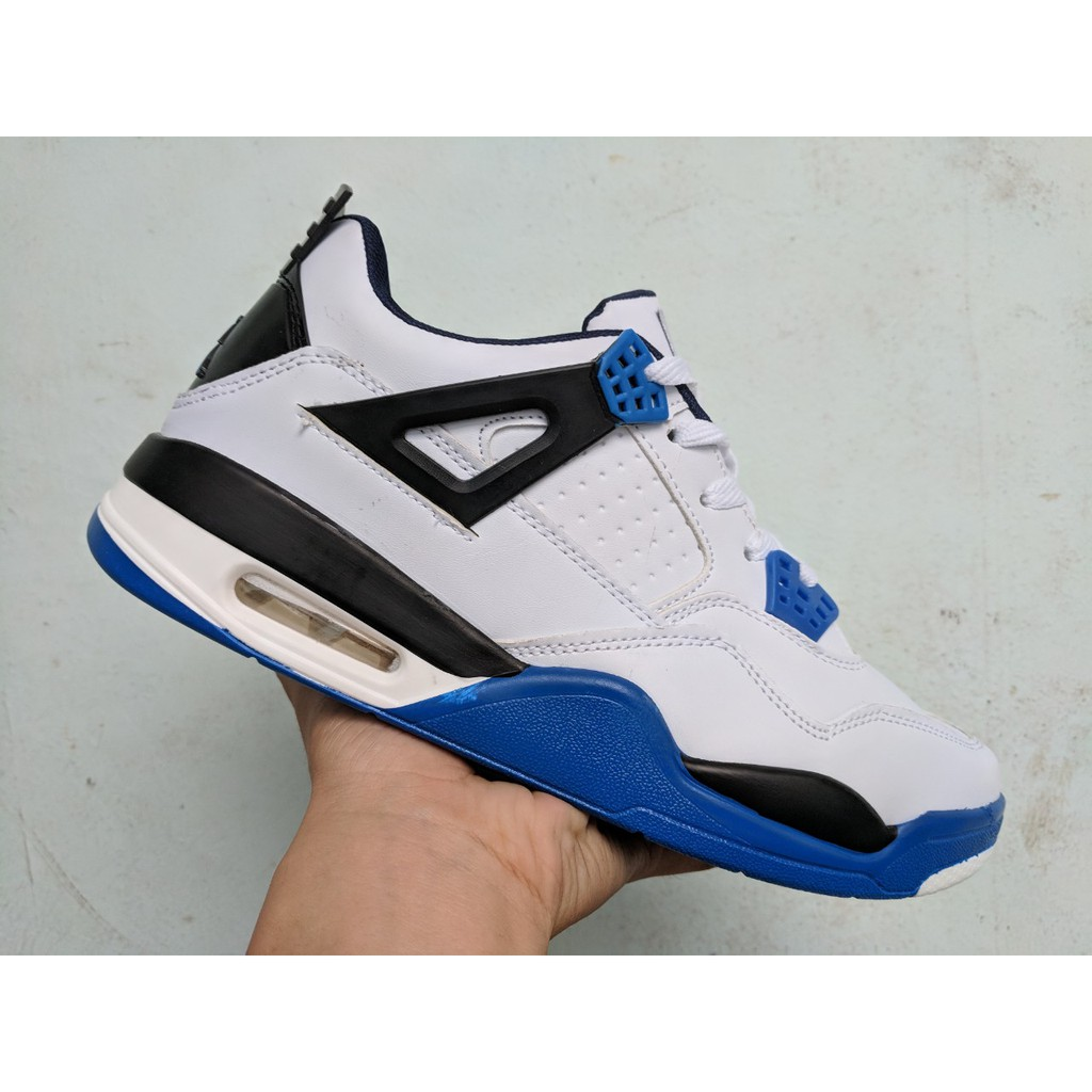 [FREE SHIP + FULL BOX] Giày Nike Air Jordan 4 Retro màu trắng xanh cô ban - 21537175 , 796115319 , 322_796115319 , 240000 , FREE-SHIP-FULL-BOX-Giay-Nike-Air-Jordan-4-Retro-mau-trang-xanh-co-ban-322_796115319 , shopee.vn , [FREE SHIP + FULL BOX] Giày Nike Air Jordan 4 Retro màu trắng xanh cô ban