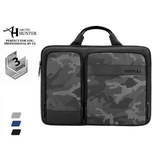 Cặp đựng laptop Arctic Hunter Y00010 chất liệu oxford chống thấm nước, thiết kế nhiều ngăn tiện dụng, nhỏ gọn dễ mang đi thumbnail
