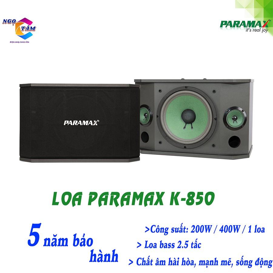 Loa Paramax K850 New Hàng Chính Hãng