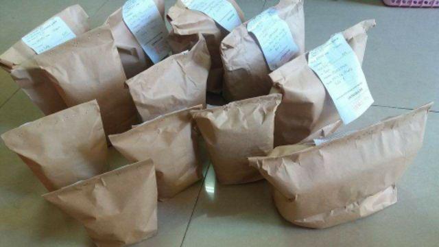 100 túi xi măng các kích cỡ - Túi giấy