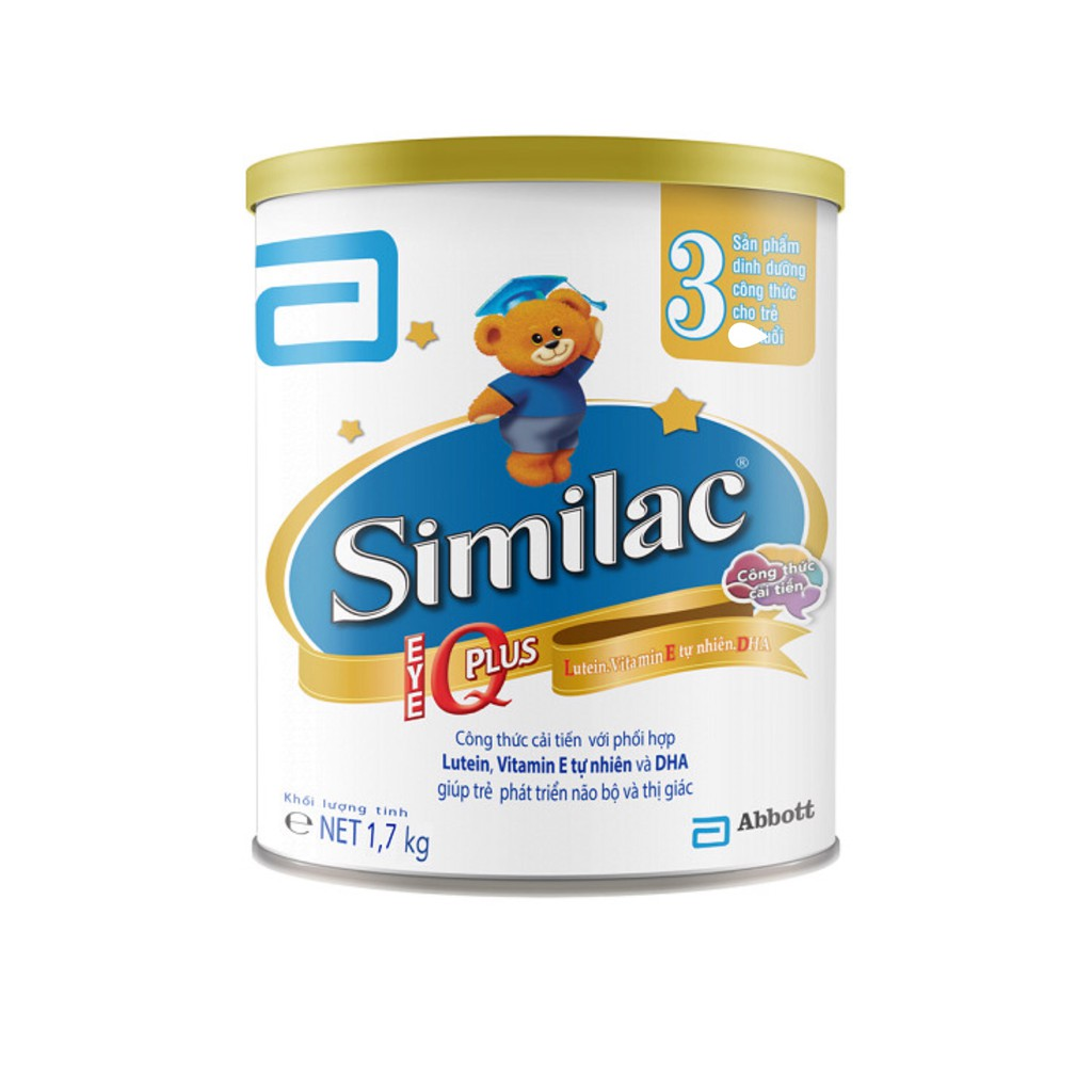 Sữa Bột Abbott Similac Eye-Q3 (1.7kg) - 3487402 , 757374015 , 322_757374015 , 710000 , Sua-Bot-Abbott-Similac-Eye-Q3-1.7kg-322_757374015 , shopee.vn , Sữa Bột Abbott Similac Eye-Q3 (1.7kg)