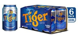 """[Mã GRO1HNK1 giảm 8% đơn 250K] Lốc 6 lon bia Tiger 330ml/lon giá chỉ còn <strong class=""""price"""">8.600.000.000đ</strong>"""