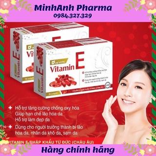 Vitamin E đỏ – nguyên liệu Đức ( Châu Âu)