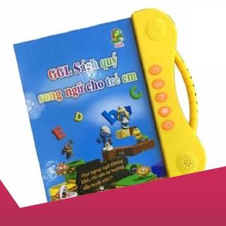 [Giảm 9k cho đơn từ 99k]Sách Nói Điện Tử Song Ngữ Anh- Việt Giúp Trẻ Học Tốt Tiếng Anh .