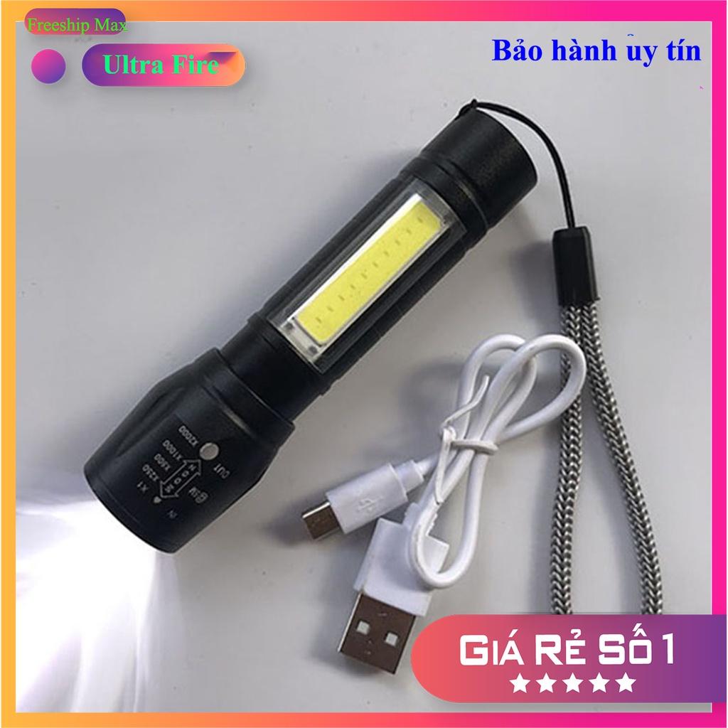 ⭐ Đèn pin cầm tay mini sạc pin USB Charge nhỏ gọn, tiện dụng ⭐ Freeship -  Đèn