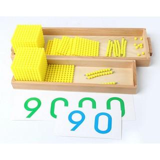 Giáo cụ Montessori – Trò chơi ngân hàng (Bank Game)