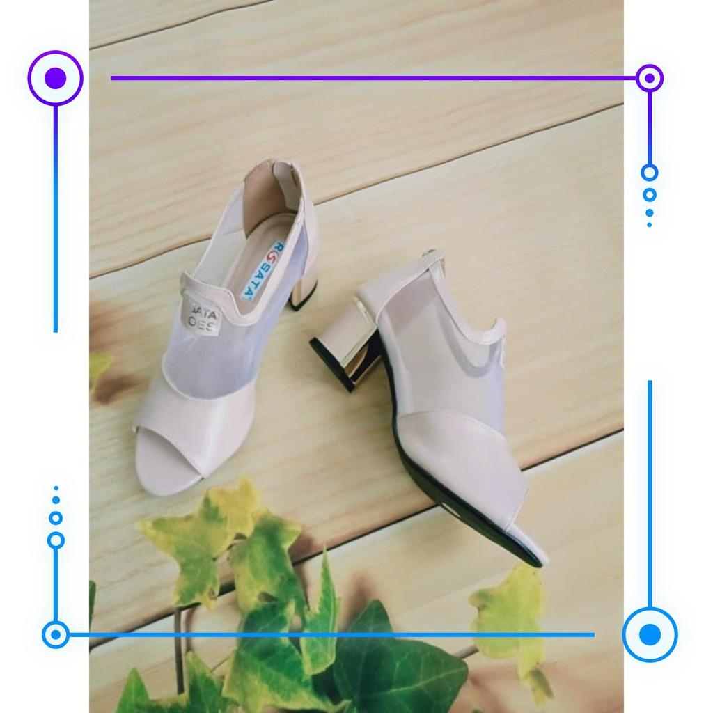 FREESHIP - Giày cao gót nữ đẹp thời trang hàng hiệu cao cấp HOT thượng lưu ro96