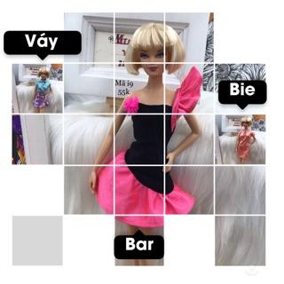 Váy búp bê Barbie chính hãng. Kéo xem thêm mẫu. Mã Váy i