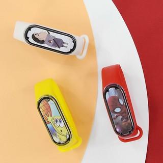 Đồng hồ điện tử Led Mtt6 trẻ em - hình nhân vật hoạt hình cực ngầu,dây silion cb6v