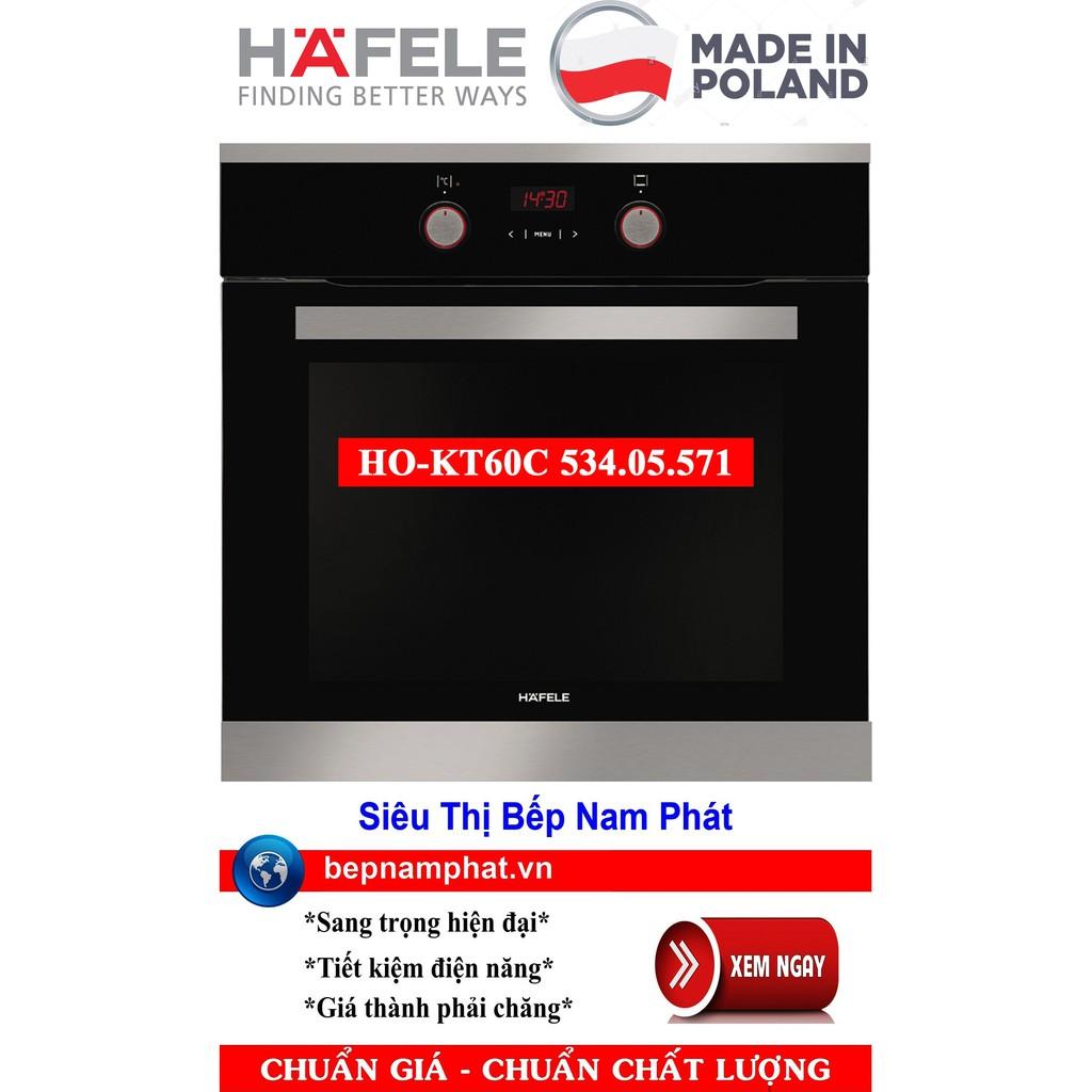 Lò nướng âm tủ cao cấp Hafele HO-KT60C 534.05.571 nhập khẩu Ba Lan