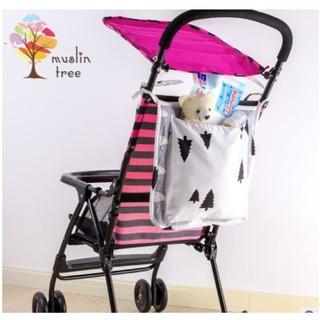 Túi đeo trên xe đẩy em bé đa chức năng để trang trí hoặc chứa đồ rất tiện dụng PKE012