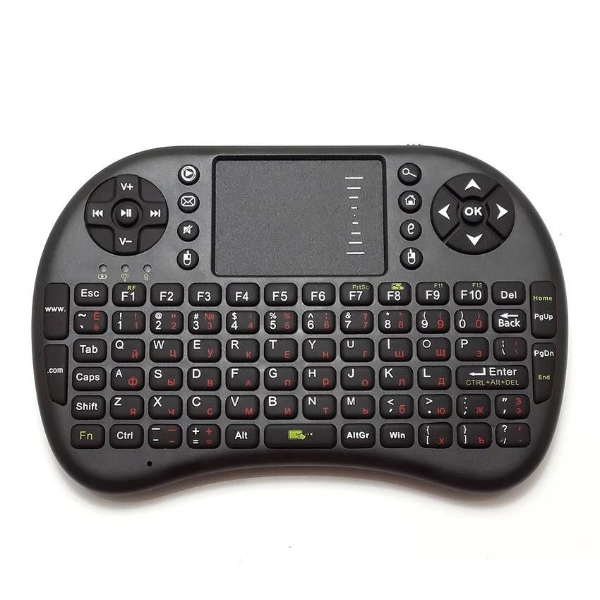 Bàn phím kiêm chuột không dây cho Smart Tivi (đen)