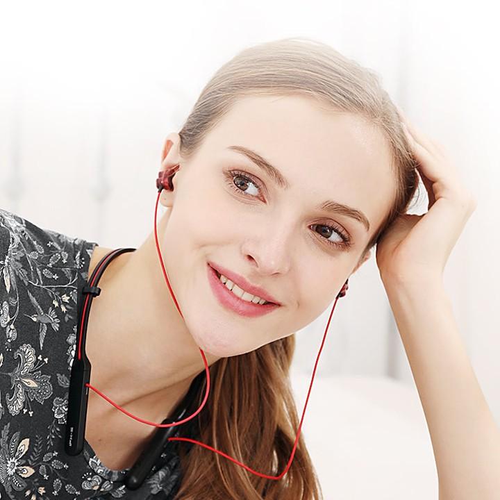 Tai Nghe Bluetooth Plextone Bx345 Dual Driver Âm Bass Cực Mạnh(tặng móc khóa đẹp)