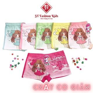 Quần chip bé gái ST Fashion Kids cotton co giãn, mềm mại, dễ thương