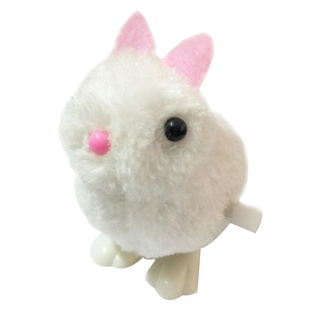 Kids Clockwork Rabbit Cute Educational Easter Eco-friendly Gift Funny Stuffed Toy