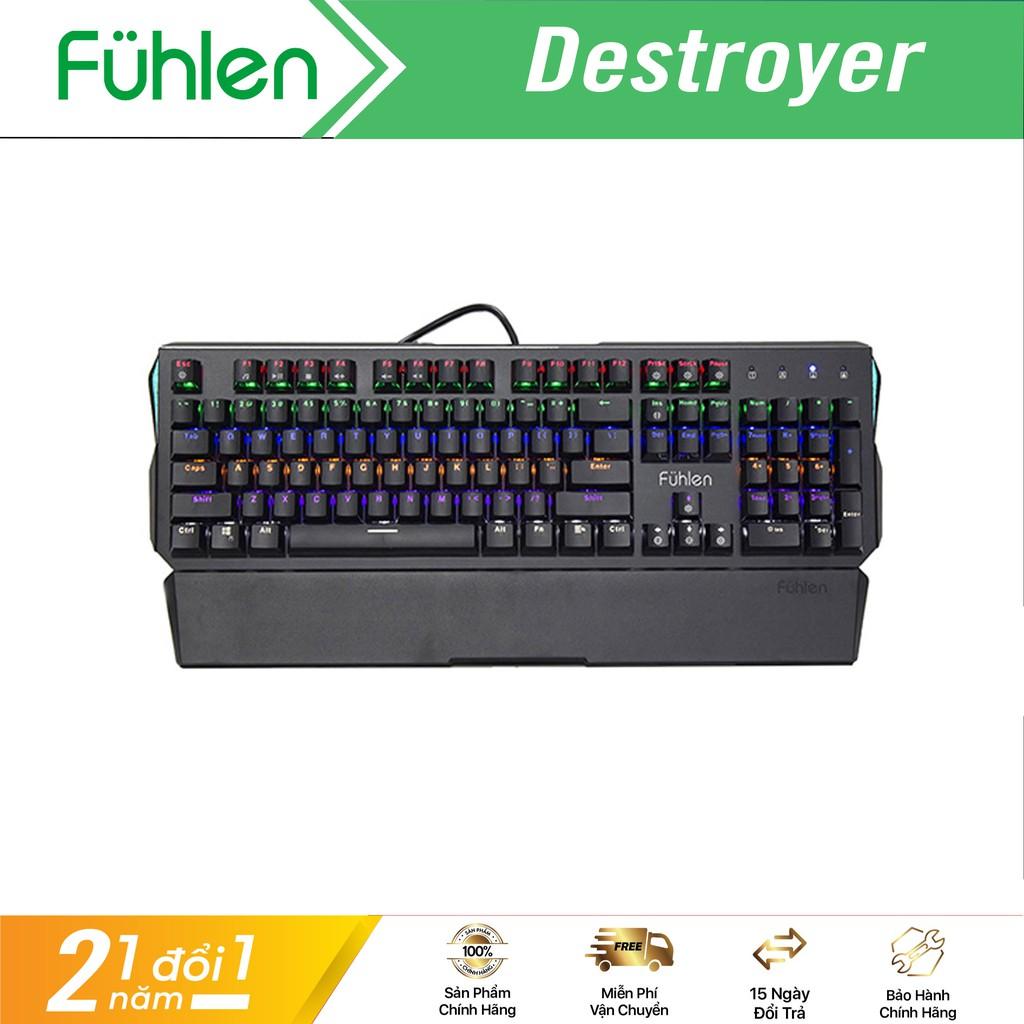 [Mã ELCL250K giảm 5% đơn 250K] Phím cơ quang học Fuhlen Destroyer - Hàng chính hãng bảo hành 2 năm