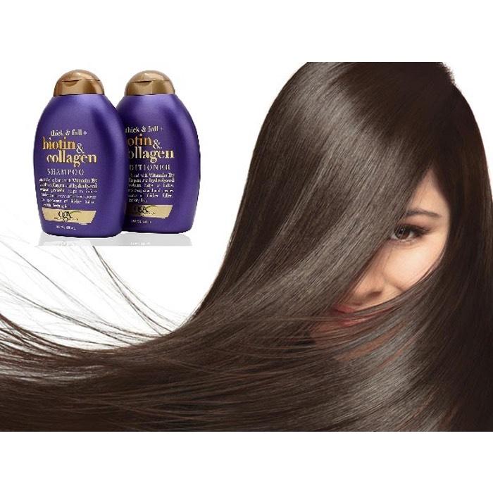Dầu gội Biotin OGX giảm rụng, kích thích mọc tóc Biotin Collagen OGX - Faki Authectic