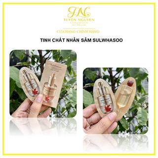 Tinh chất nhân sâm cô đặc giải cứu làn da tức thì Sulwhasoo Concentrated Ginseng Rescue Ampoule gói mẫu thử 3.5gr thumbnail