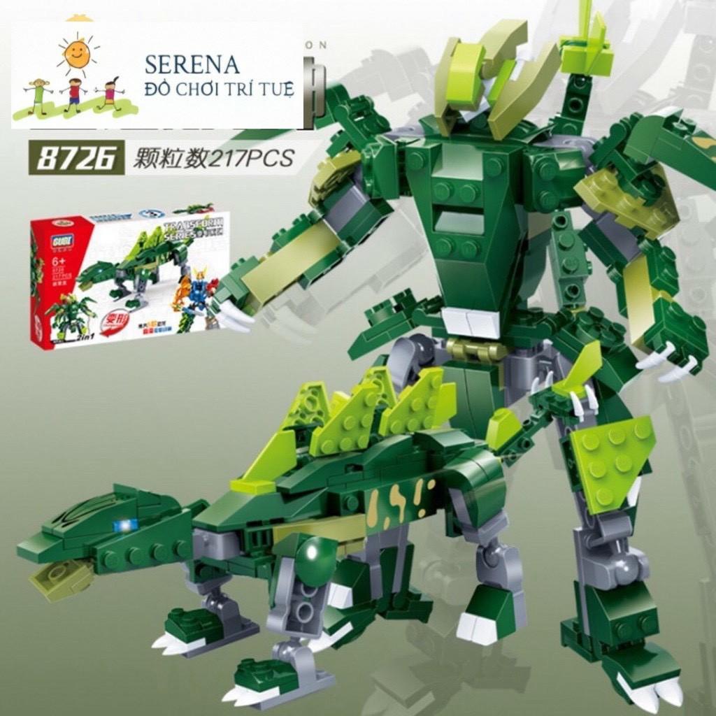 Bình luận [Freeship][Nowship] Đồ Chơi Lắp Ráp Lego Robot Goodi Biến Hình  Khủng Long Lắp Ghép Thông Minh Đồ Chơi Trẻ Em Giá Rẻ Nhất
