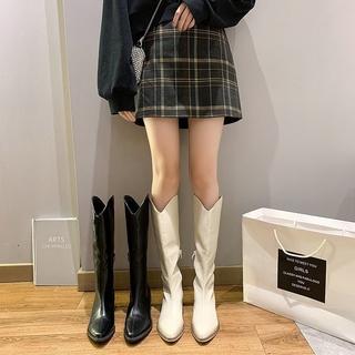 HÀNG MỚI VỀ Giày Bốt ( boot) Da Pu Thời Trang Cá Tính Dành Cho Nữ