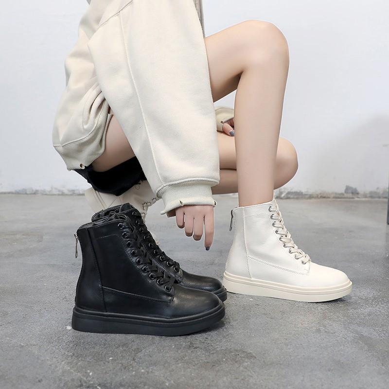 Boots ulzzang, Giày Dr cao cổ (ảnh thật ở cuối) - T8.13