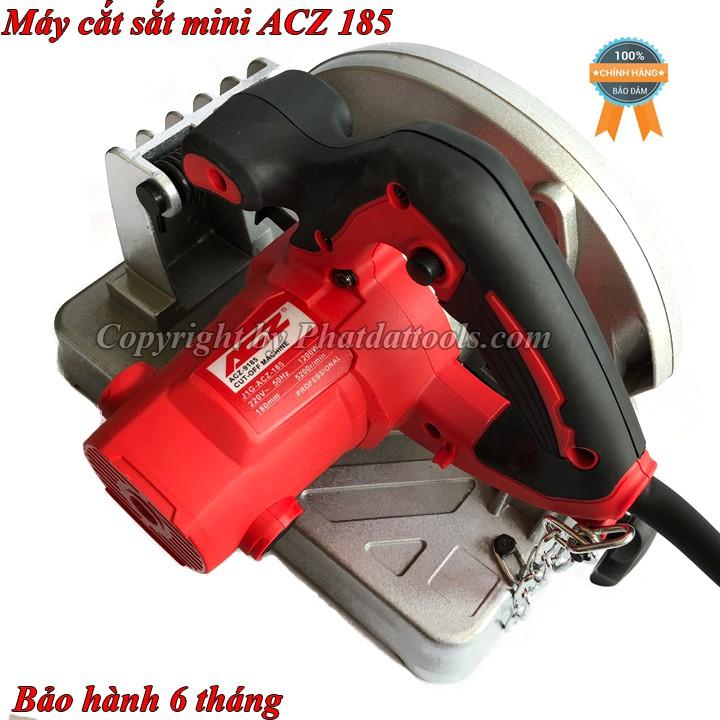 Máy cắt sắt-Máy cắt sắt mini ACZ 9185 đa năng-1200W-BH 6 tháng