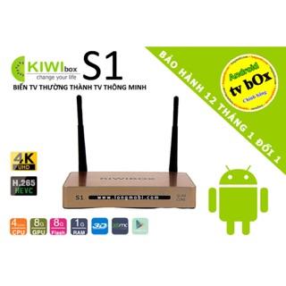 [Freeship toàn quốc từ 50k] Tivi box kiwwi S1 tặng chuột không dây forter