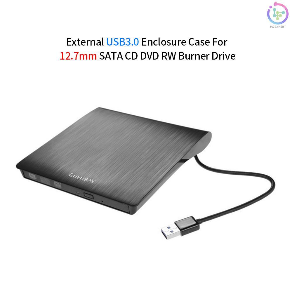 Hộp Đựng Ổ Cứng Ngoài Usb 3.0 Cho 12.7mm Sata Cd Dvd Bd-Rom Bd-Re