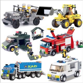 LEGO xe tải đặc vụ công việc