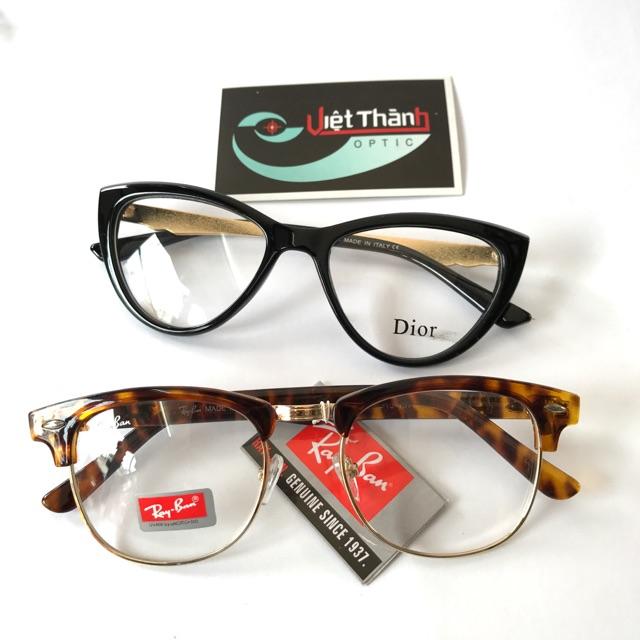 Combo 2 kính mắt ( tặng hộp và khăn lau