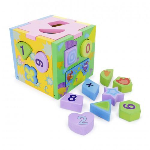 [FREE SHIP] Đồ chơi hộp thả khối màu cho bé