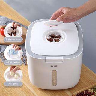 Thùng đựng gạo Ecoco thông minh chống ẩm cao cấp