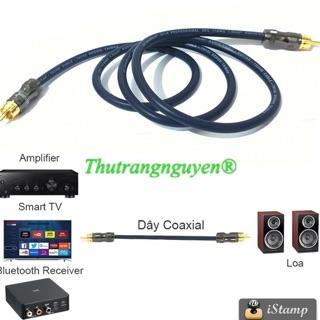 Cáp âm thanh đồng trục kỹ thuật số Coaxial 75 ohm TH132
