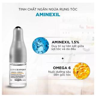 Tinh chất dưỡng tóc Loreal Serie Expert Aminexil Advanced 10x6ml, ngăn ngừa rụng tóc và kích thích mọc tóc thumbnail