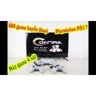 Máy chơi game cổ điển OINY ONE GameStation 4 nút 2 người chơi 600 game cổ điển, kết nối hình ảnh HD chơi game sống động thumbnail